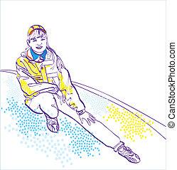 παιχνιδιάρης , sportswear., κορίτσι , χειμώναs , συλλογή