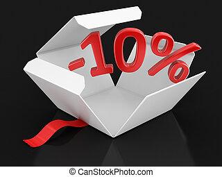 πακέτο , ανοίγω , -10%