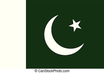 πακιστάν , εθνική σημαία