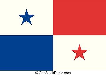 παναμάς , εθνική σημαία