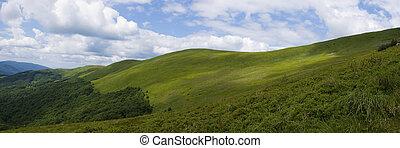 πανοραματικός , βουνό , bieszczady