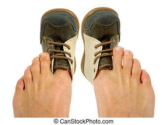 παπούτσια , άβολος