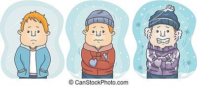 παράθεση , εικόνα , βαθμίδα , coldest, κρύο , άντραs