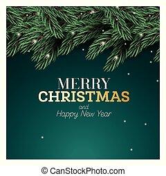 παράρτημα , xριστούγεννα , πράσινο , εύθυμος , ευτυχισμένος , ελάτη , νέο , φόντο. , year., πνεύμονες ζώων , καινούργιος