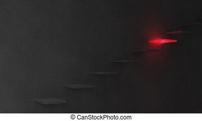παραγγελία , βήμα , σκοτεινιά , εικόνα