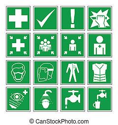 παραγγελία , υγεία , ασφάλεια , κίνδυνοs , &