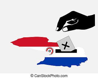παραγουάη , ψηφοφορία , εκλογή