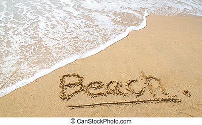 παραλία , ακρογιαλιά.