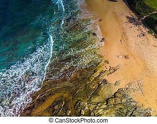 παραλία , αυστραλία , εναέρια , dicky, πανοραματικός ,...