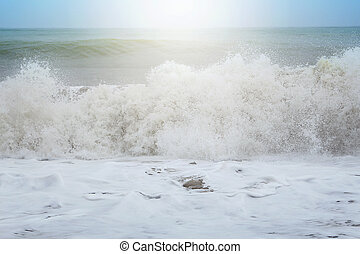 παραλία , κύμα