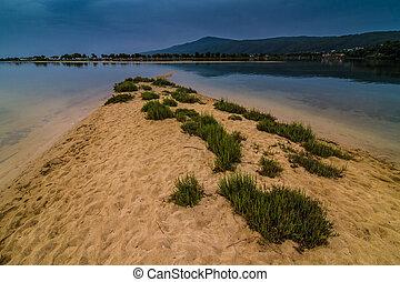 παραλία , λιμνοθάλασσα , ελλάδα