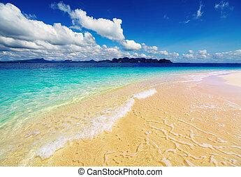 παραλία , σιάμ , τροπικός