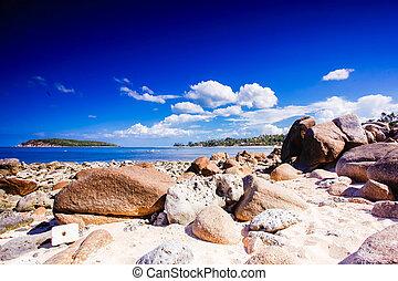 παραλία , τροπικός , βραχώδης , samui απομονώνω , koh, βράχος , όμορφος