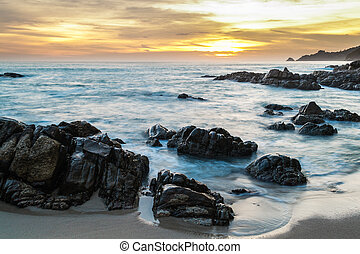 παραλία , kalim, phuket , σιάμ