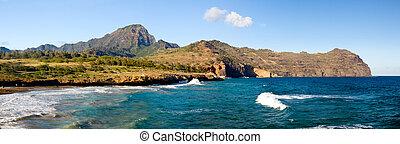 παραλία , maha'ulepu, kauai