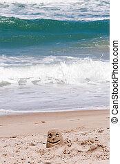 παραλία , smily