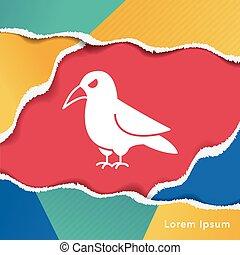 παραμονή αγίων πάντων , πουλί , εικόνα