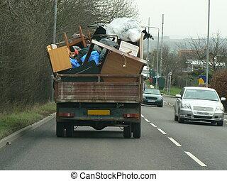 παραφορτωμένα , φορτηγό