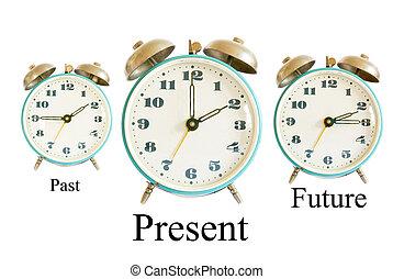 παρελθών , μέλλον , απονέμω