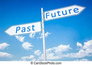 παρελθών , μέλλον