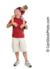 πατέραs , οικογένεια , υιόs