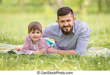 πατέραs , υιόs