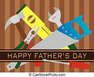 πατεράδες , εργαλεία , ημέρα , εικόνα , ευτυχισμένος