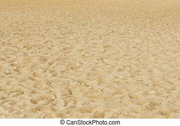 πατημασιά , κίτρινο , άμμος αχανής έκταση