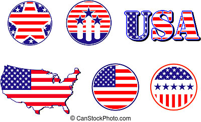 πατριωτικός , σύμβολο , αμερικανός