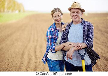 πεδίο , αγρότες
