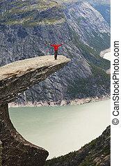 πεζοπορώ , μέσα , νορβηγία