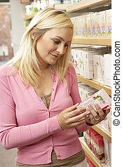 πελάτης , βοτανικός , γυναίκα , εξαγορά , τσάι