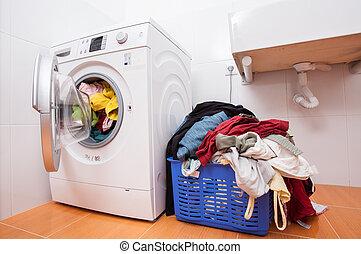 πελώρια , μπουγάδα