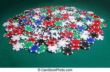 πελώρια , πόκερ , δοχείο