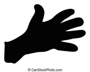 περίγραμμα , σύμβολο , χέρι , μικροβιοφορέας , εικόνα , χειρονομία , design.