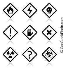 περίθαλψη , παραγγελία , κίνδυνοs , τετράγωνο