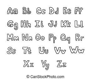 περίπτωση , ανώτερος , χαμηλώνω , αλφάβητο , γράμματα , γράφω άσκοπα , set., χέρι , μικροβιοφορέας , βούρτσα , μελάνι , μετοχή του draw , κόμικς , κολυμβύθρα , δικό σου , design.