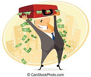 περίπτωση , επιχειρηματίας , χρήματα