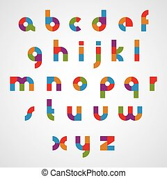 περίπτωση , χαμηλώνω , στρογγυλεμένα , γραφικός , sectored, letters., κολυμβύθρα