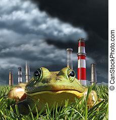 περιβάλλοντος , ρύπανση