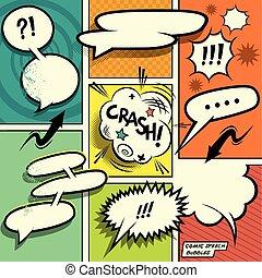 περιοδικό με κόμικς , λόγοs , αφρίζω