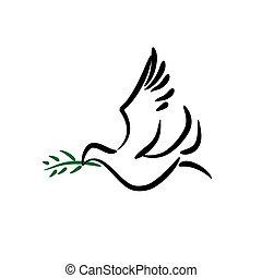 περιστέρι ειρήνης
