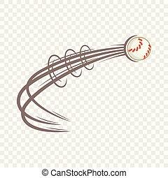 πετάω , ρυθμός , μπάλα , μπέηζμπολ , εικόνα , γελοιογραφία
