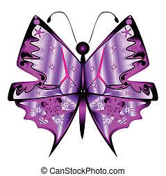 πεταλούδα , αφαιρώ