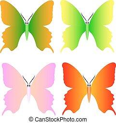 πεταλούδα , μικροβιοφορέας