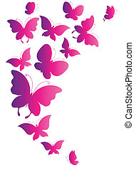 πεταλούδες , μικροβιοφορέας , σχεδιάζω