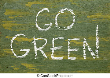 πηγαίνω , πράσινο , σήμα
