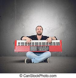 πιάνο , μουσική