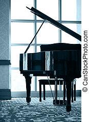 πιάνο , περίγραμμα , μεγαλειώδης