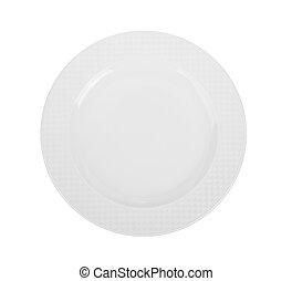 πιάτο , άσπρο , αδειάζω , φόντο
